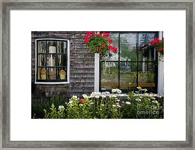 Cafe Windows Framed Print by Susan Cole Kelly