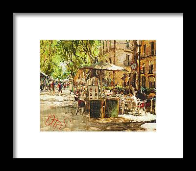 Russian Impressionism Framed Prints