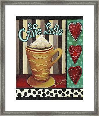Caffe Latte Framed Print by Debbie McCulley