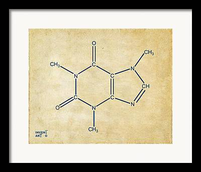 Chemist Digital Art Framed Prints