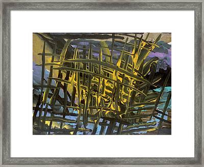 Caged Framed Print by Helene Henderson