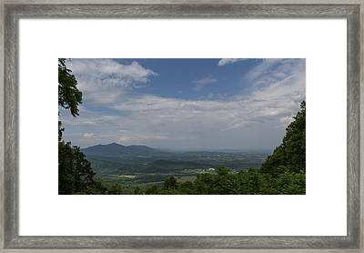Cahas Mountain View Framed Print