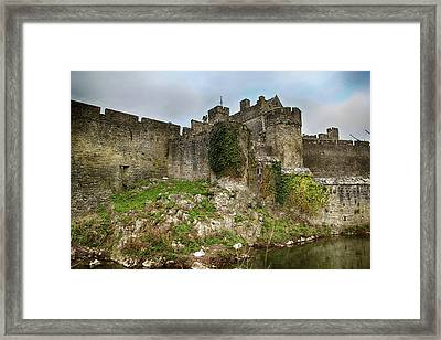 Framed Print featuring the photograph Cahir Castle by Marie Leslie