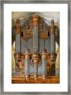 Cahors Cathedral Organ Framed Print