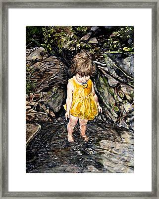 Caice At Otter Creek Framed Print by Thomas Akers