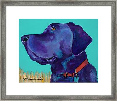 Caige Framed Print by Pat Saunders-White