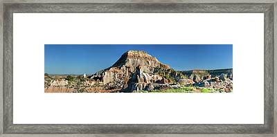 Cain's Coulee Overlook Framed Print