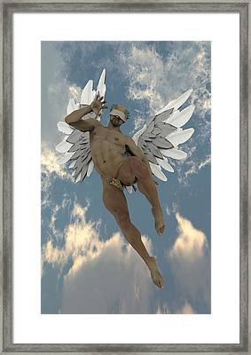 Caipirinha Angel Framed Print
