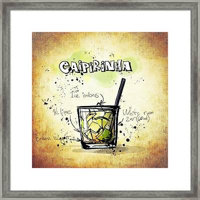Caipirinha Framed Print by Movie Poster Prints