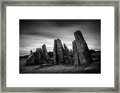 Cairnholy I Framed Print by Dave Bowman