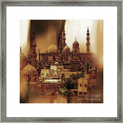 Cairo Egypt Art 03 Framed Print by Gull G