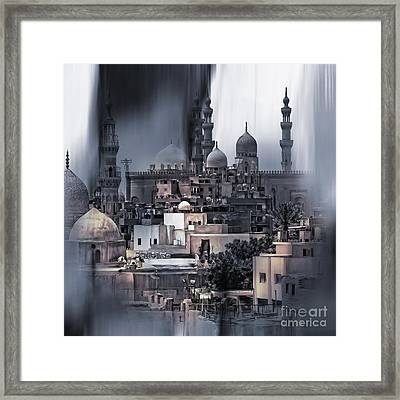 Cairo Egypt Art Framed Print by Gull G