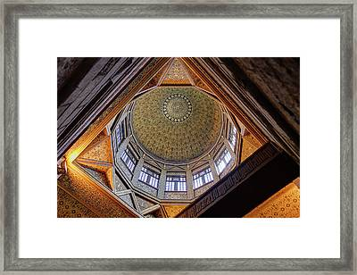 Cairo Nilometer Framed Print by Nigel Fletcher-Jones