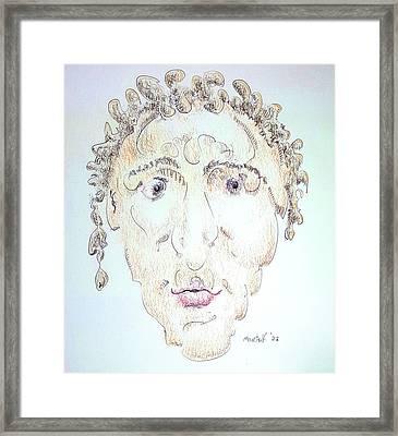 Caius Lividicus Framed Print