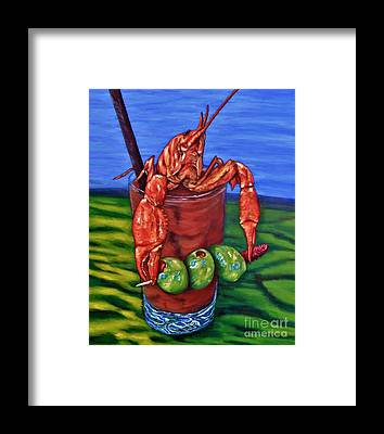 Bloody Mary Framed Prints