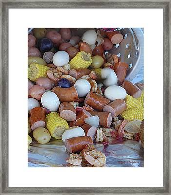 Cajun Cornucopia Framed Print by DigiArt Diaries by Vicky B Fuller