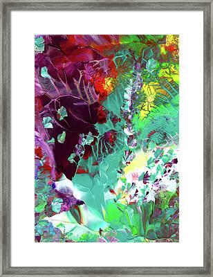 Cajun River Wild Framed Print