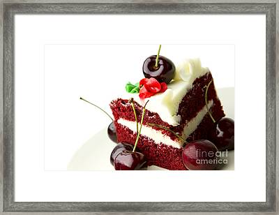 Cake Framed Print by Blink Images