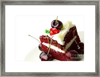 Cake Framed Print by Blink Images