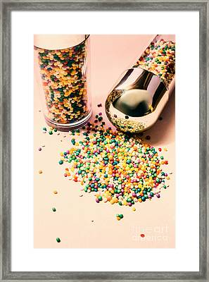 Cake Making Confectionery Framed Print by Jorgo Photography - Wall Art Gallery