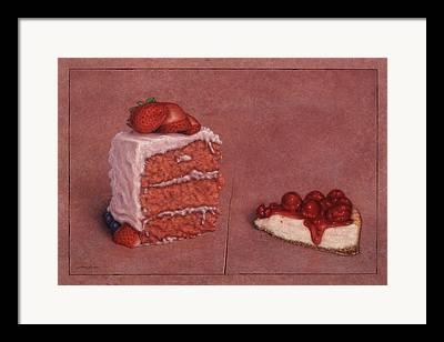 Cheesecake Framed Prints