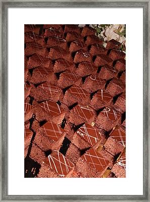 Cakes 1 Framed Print
