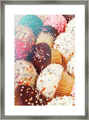 Cakes Of Confection Framed Print