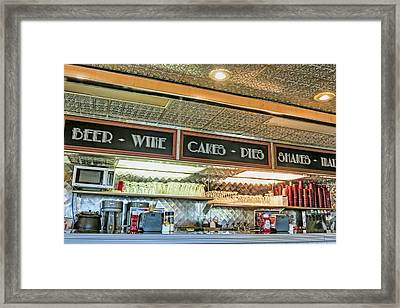 Cakes - Pies Framed Print