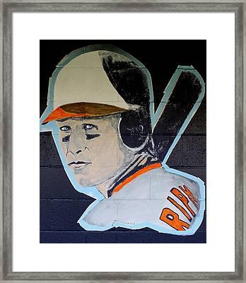 Cal Ripken Jr. Framed Print