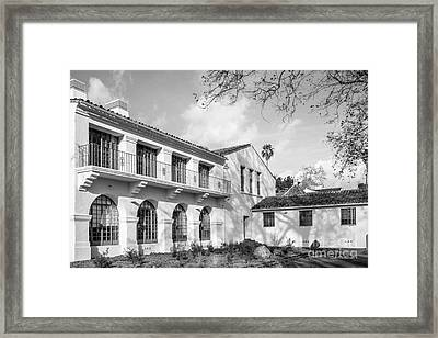 Cal State University Channel Islands Bell Tower Building Framed Print