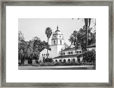 Cal State University Channel Islands Bell Tower Framed Print