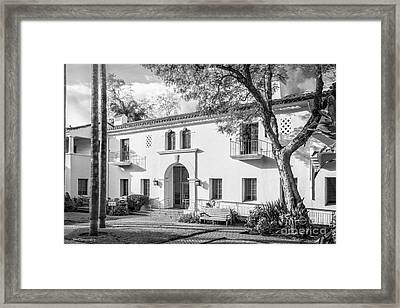 Cal State University Channel Islands Courtyard Framed Print