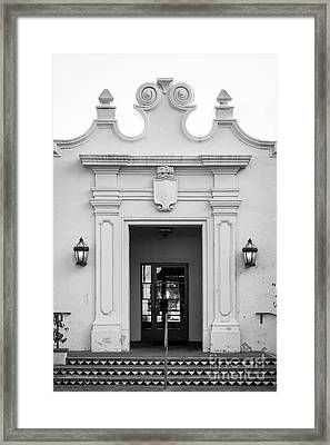 Cal State University Channel Islands Doorway Framed Print