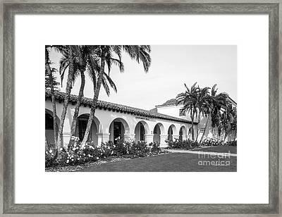 Cal State University Channel Islands University Hall Entrance Framed Print