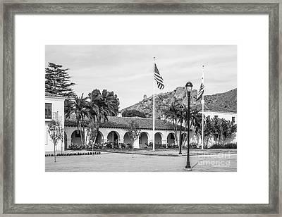 Cal State University Channel Islands University Hall Framed Print