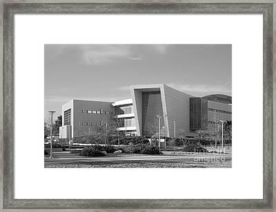 Cal State University San Bernardino College Of Education Building Framed Print