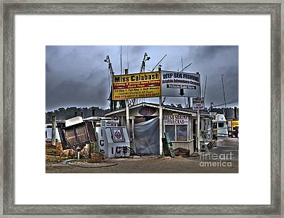 Calabash Bait Shop Framed Print by Corky Willis Atlanta Photography
