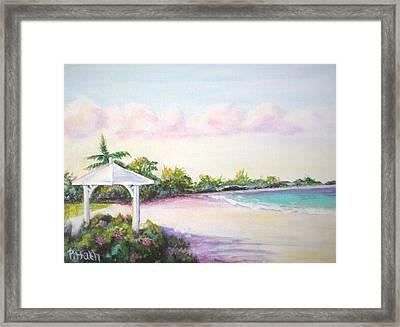 Calabash Bay Framed Print by Patricia Piffath