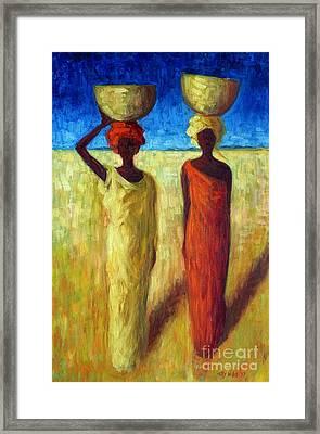 Calabash Cousins Framed Print by Tilly Willis