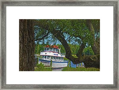 Calabash Deep Sea Fishing Boat Framed Print by Sandi OReilly