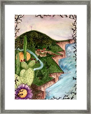 Calabazas Framed Print by Jessica  De la Torre