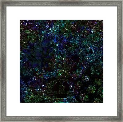 Calabi Yau Vibrations Framed Print