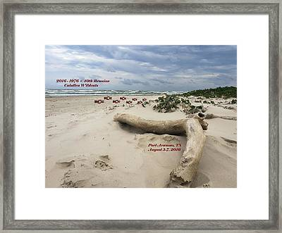 Calallen 40th Reunion - D Framed Print