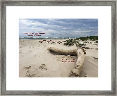Calallen 40th Reunion - D Framed Print by Debra Martz