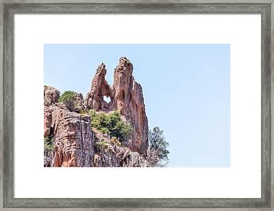 Calanque De Piana - Corsica Framed Print