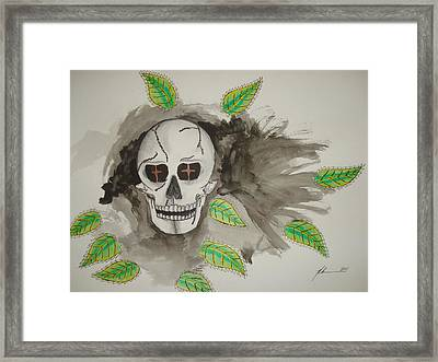Calavera Framed Print