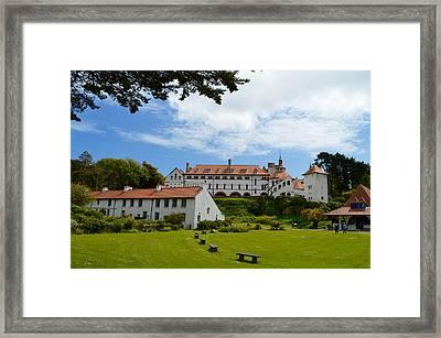 Calday's Celtic Monastery Framed Print