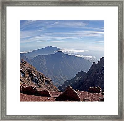Caldera De Taburiente-1 Framed Print