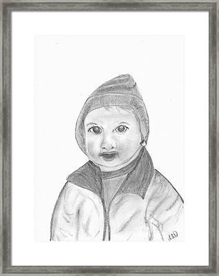 Caleb Framed Print by Laura DAddona