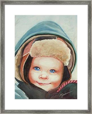 Caleb Framed Print by Marilyn Jacobson